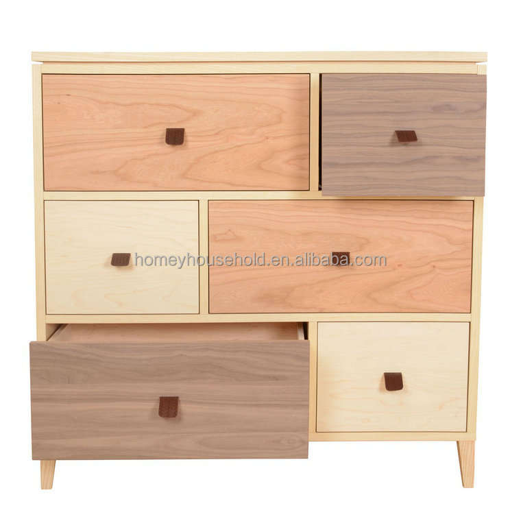 Accent furniture vintage wood cabinet sideboard buffet
