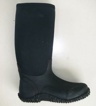Boots Knee High Rubber