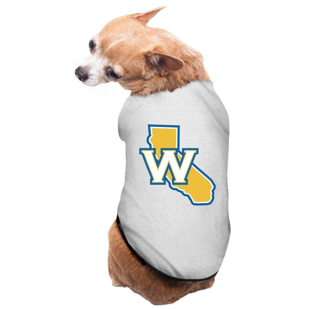 hot sale online a6179 3e35c Buy LuNeil Cute Golden State Warriors W Map Pet Dress Dog ...