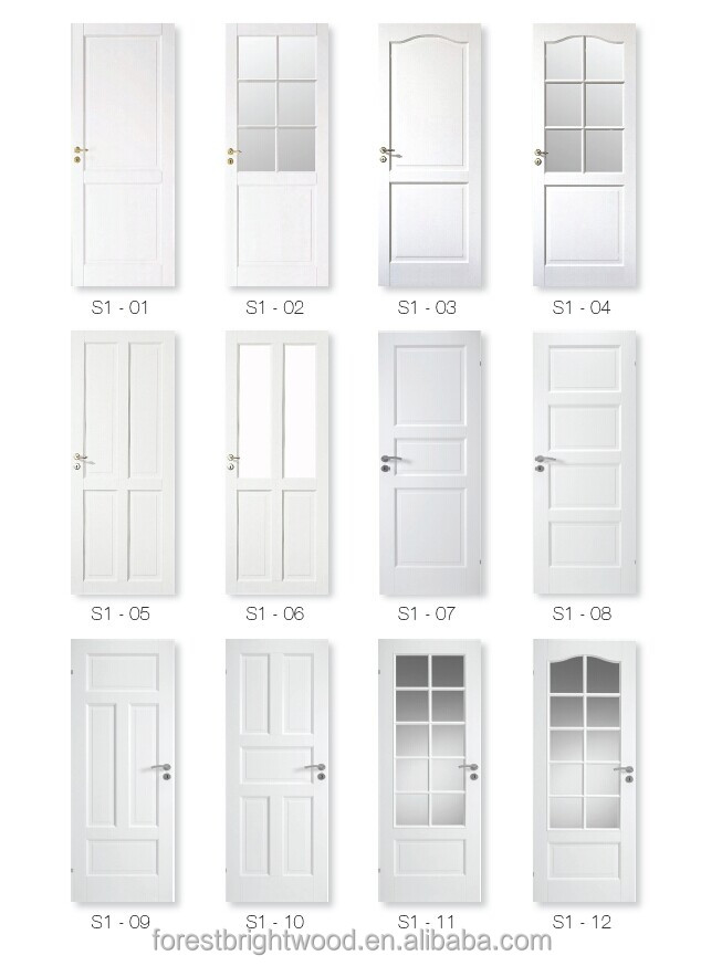 White Bathroom Door classic white french door glass insert design - buy classic frech