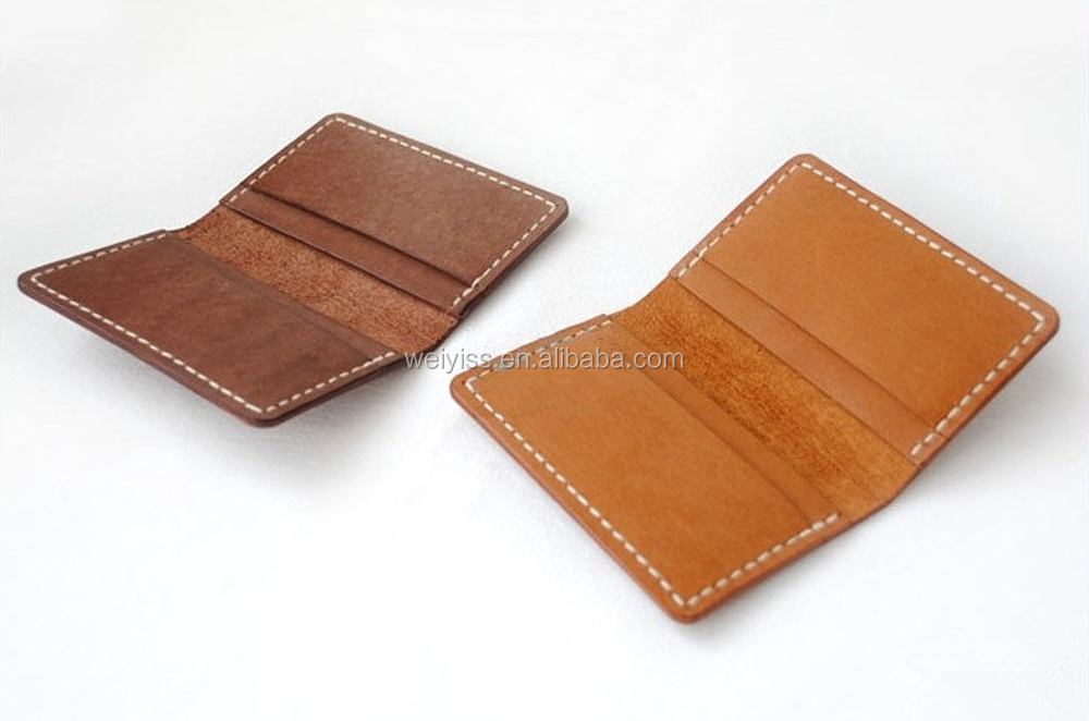 Wholesale Classic Pocket Size Genuine Leather Business Credit Card ...