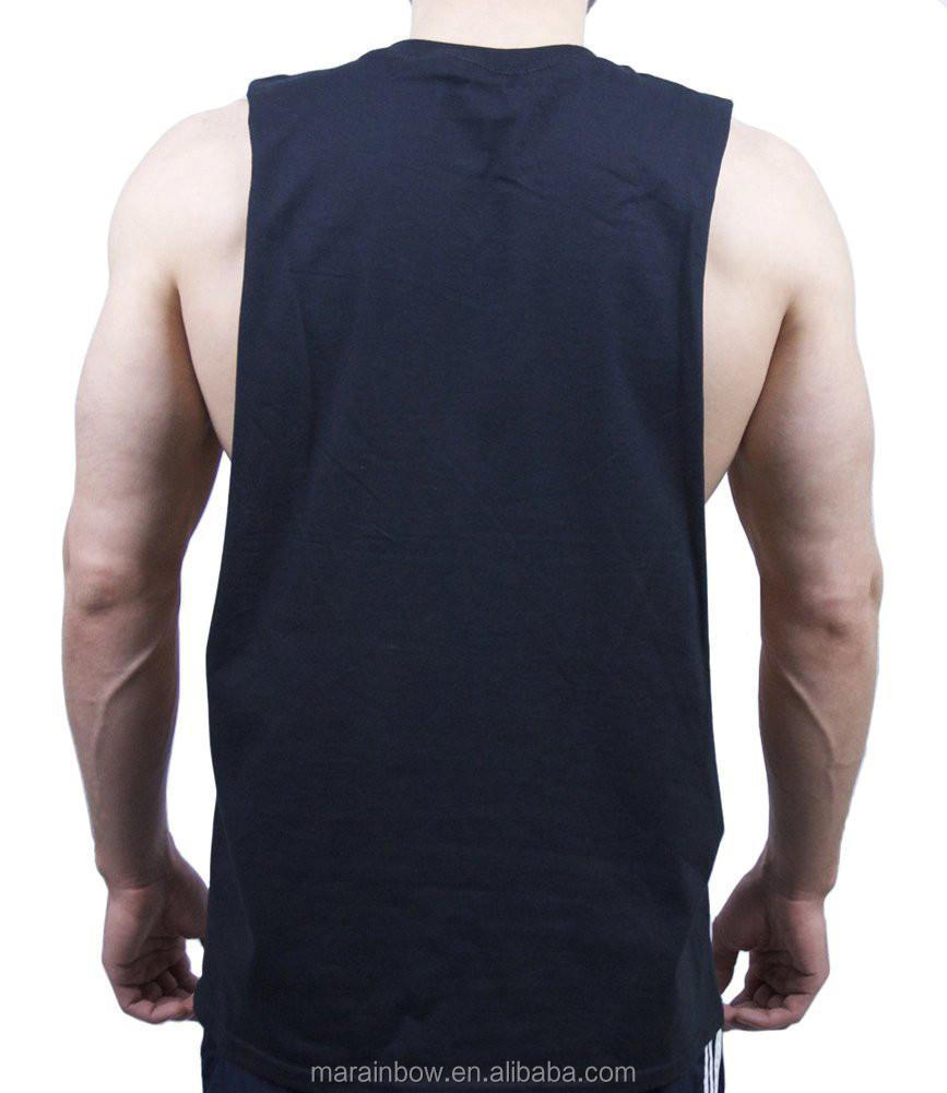 27df798fcf95d Beast Mode Cut Off Shirt for Men Black 100% Combed Cotton Muscle Fit Gym  Tank