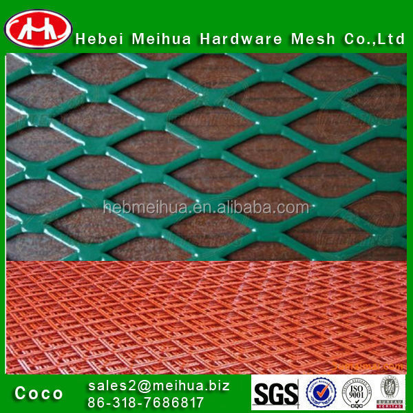 High quality spray paint expanded metal mesh spray paint expanded metal sheet security fence expanded metal sheets