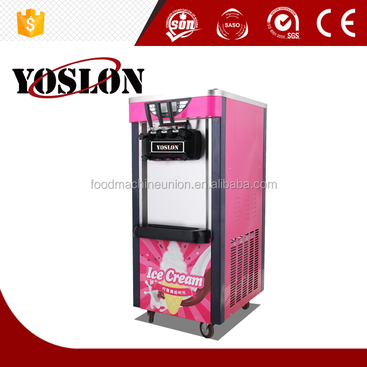 Wholesale factory price floor standing soft serve ice cream machine