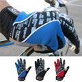 2017 MOKE brand winter mountain warm full finger bike cycling motorcycle sport gloves motocross glove windproof