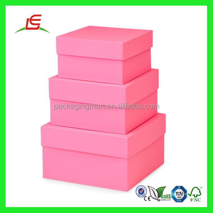Q947 China Supplier Cardboard Custom Printed Nested Decorative