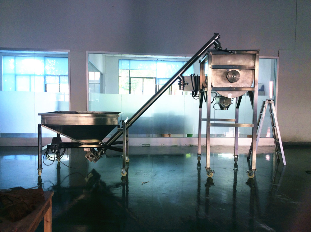 food grade SS304 wheat flour mixing blending machine