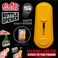 Original Manufacturer For Party Game Magnetic Cap Zappa Plastic Cap Shooter Opener