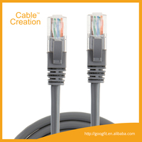 China Supplier lan cable Outdoor 100FT/30M 100 pair utp cat6 Network Ethernet Lan Cable with 8P/8C (RJ45) Plug