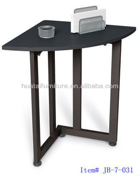 Simple Quarter Round Table Telephone Stand Office Desk Side Modern Product