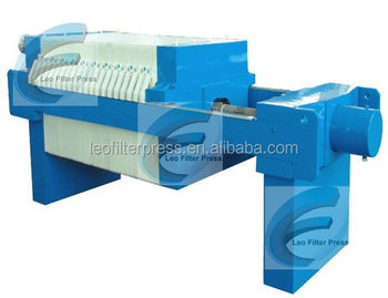 Small Recessed Plate Filter Press Small Size Plate And