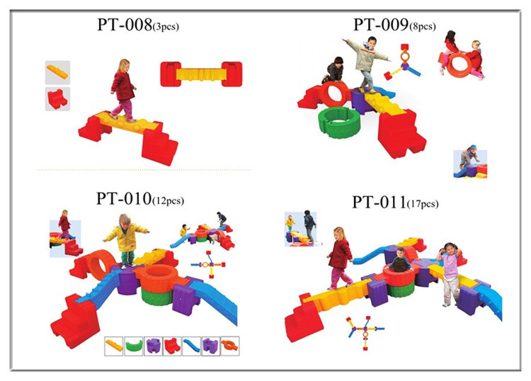 Wholesale hot selling plastic indoors balance toys for kid education