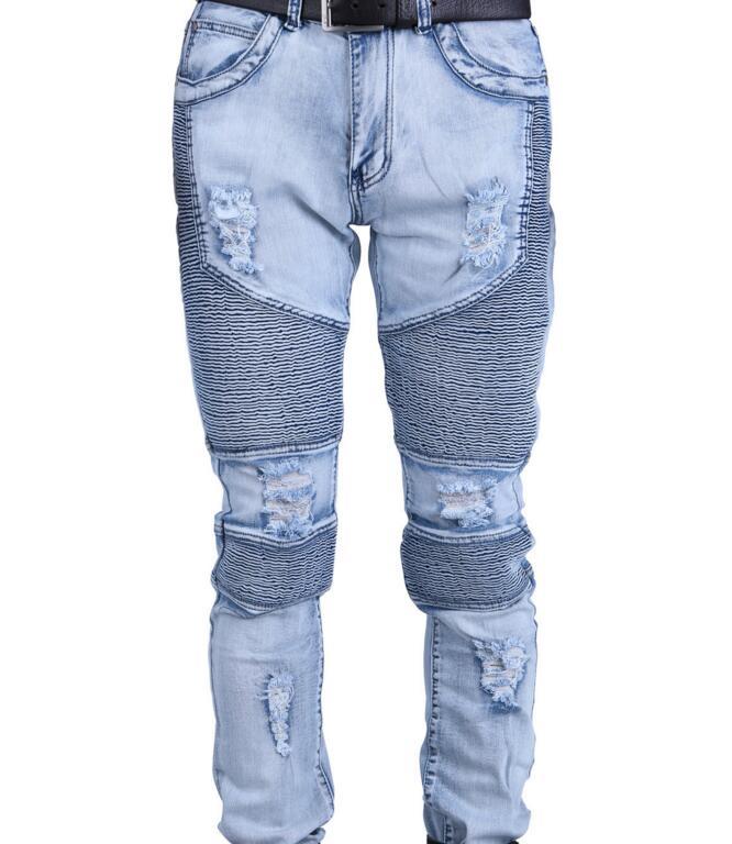 Z82171b New Style Jeans Pants Ripped Denim Jeans Pent Men 2016 ...