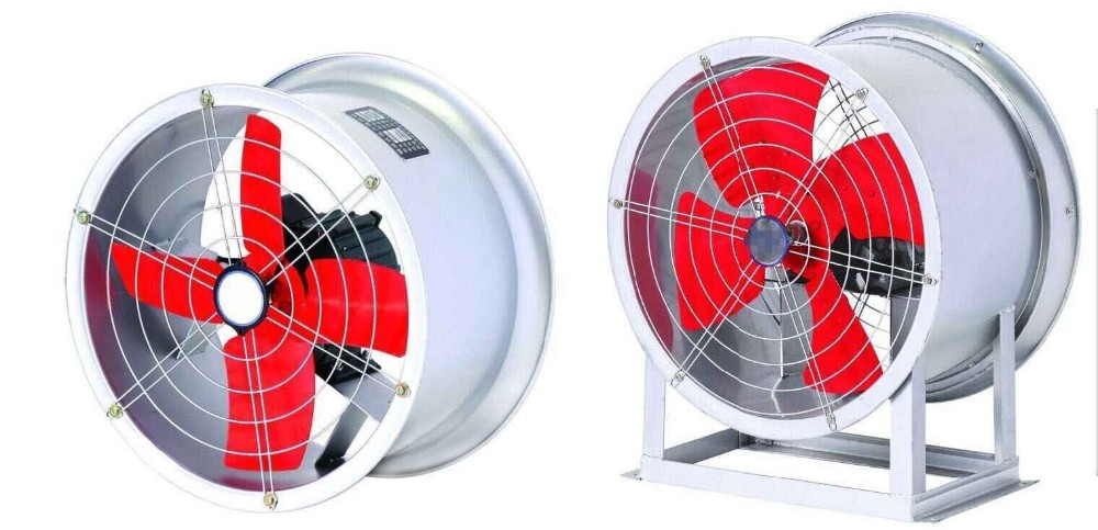 Inline Exhaust Fans Commercial : Industrial inline duct fan blower centrifugal ventilation