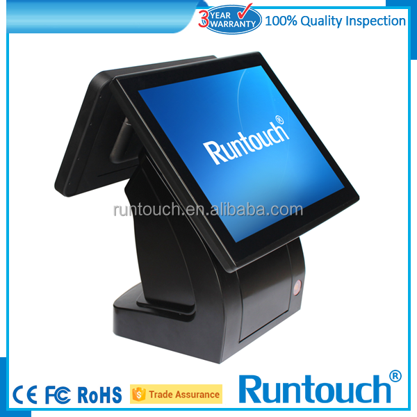 Runtouch RT 6900 Android OS 15 inch LED touch screen POS with 80mm Receipt Printer