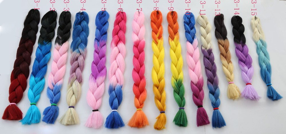New Japanese Fiber Expression Braiding Hair Wholesale