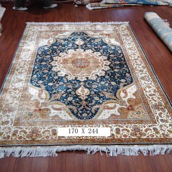 home goods area rugs. 5.5x8ft Turkish Hereke Silk Rug Oriental Handmade Home Goods Area Rugs E