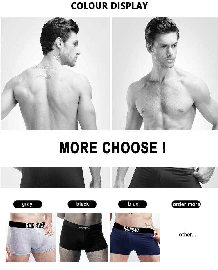 Top quality custom your own brands heated underwear for men