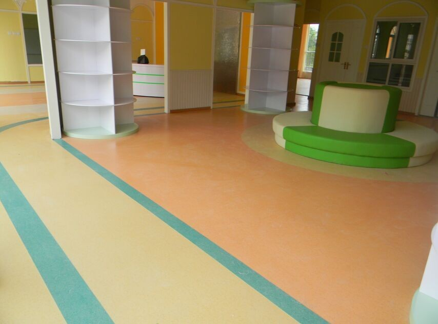 Commercial Cheap Price Anti-slip PVC Roll Flooring