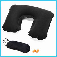 Airlines 3 in 1 inflatable Inflatable travel pillow set