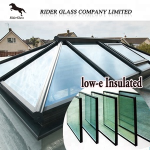 4-8mm Clear and Tinted Reflective/Tempered/Laminated Low-e (Rider) Insulated Double Windows Glass