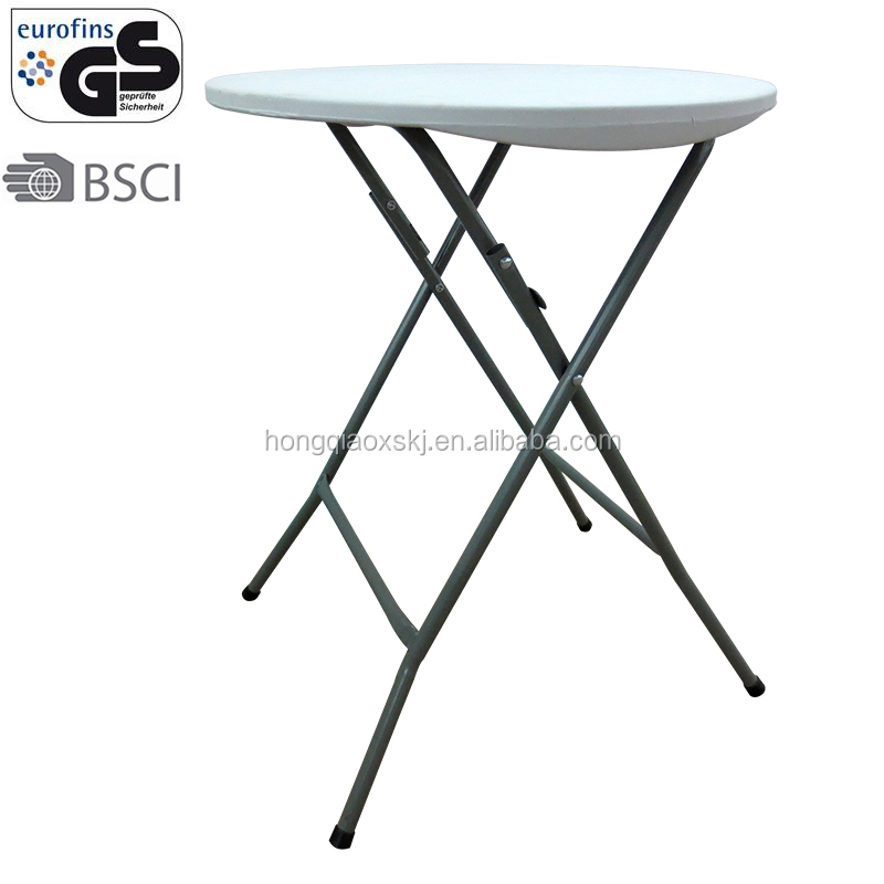 basic white plastic 1.96ft 60cm round pub/restaurant dining table stackable online shopping