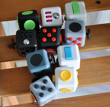Mini Fidget Cube Relieves Squeeze Fun Stress Reliever Anxiety and Stress Cube Juguet Desk Spin Toys for Adults Children