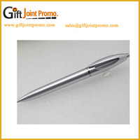 Good Quality Smooth Writing Business Gifts Sliver Metal Ball Pens
