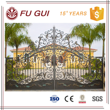 Anticorrosion 100 years hot sale modern style black powder coated dh gate