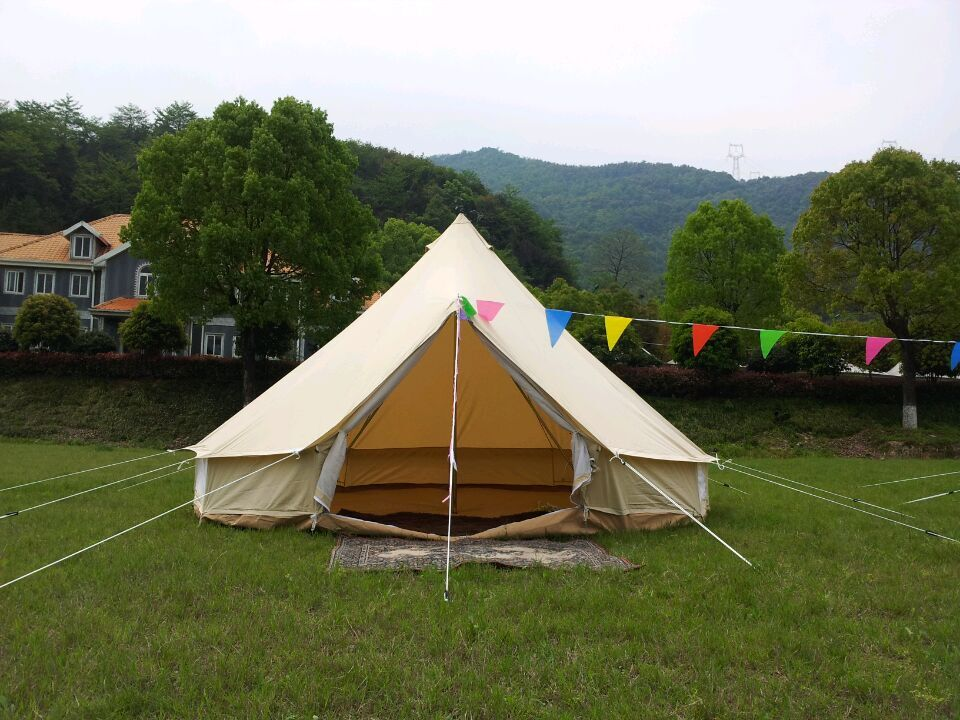 Cotton canvas tipi tents for sale medieval canvas tents for A frame canvas tents for sale