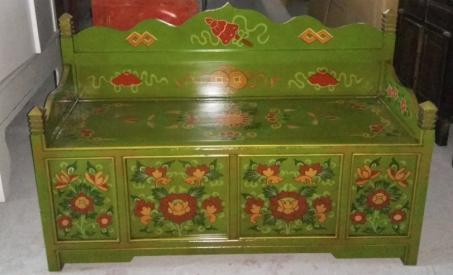 Chinese antique wooden sofa LWB936-2