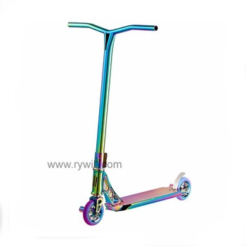 2017 Two Foot Pedal Kick Scooter With Suspension Shocks For S
