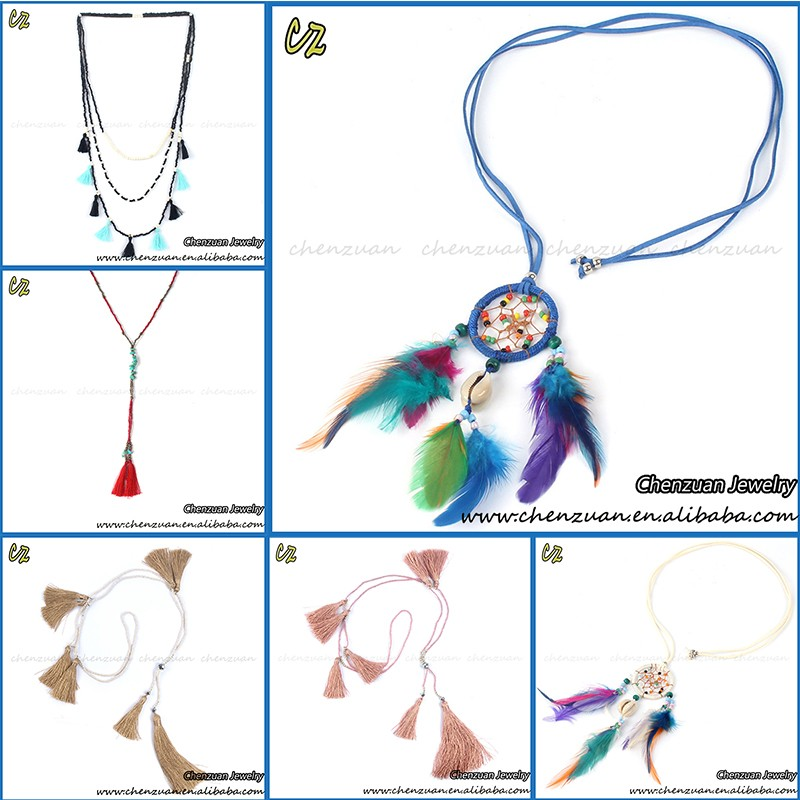 40 Newest Design Dreamcatcher Feather Necklace Jewelry Feather Extraordinary Dream Catcher Necklace Meaning