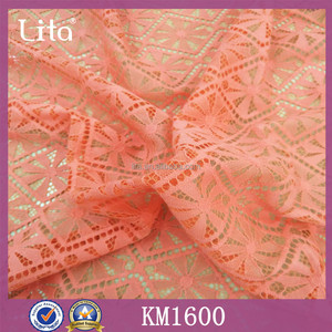 Lita KM1600 knitting cotton fabric for decoration