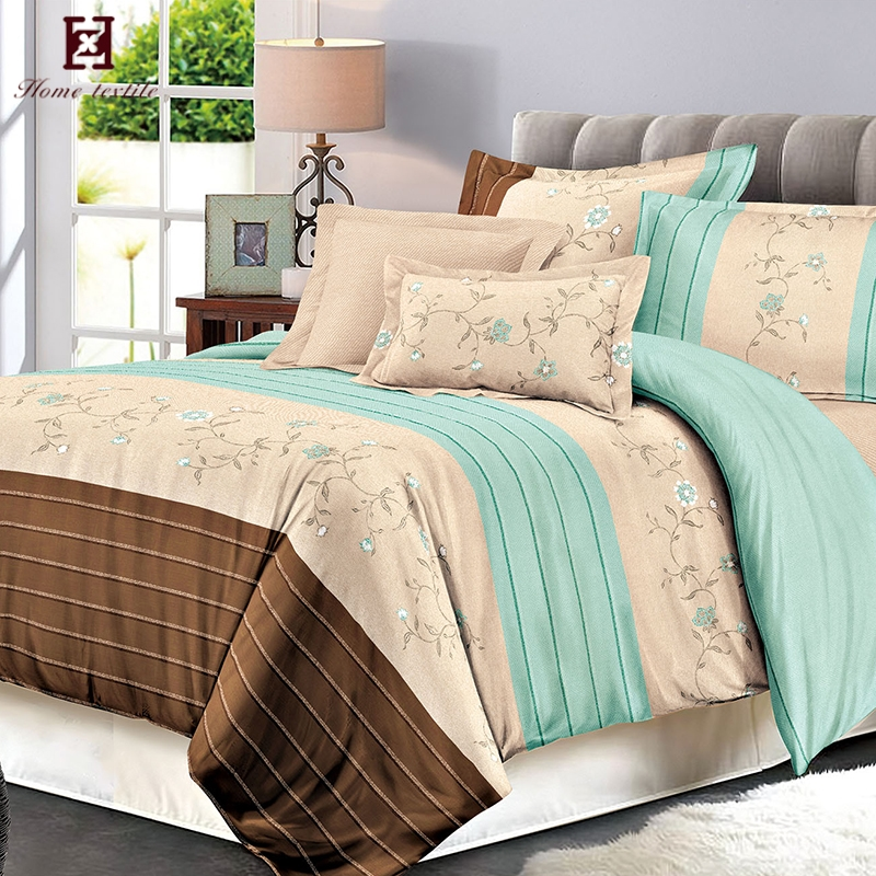 Fashion Type Pretty Painting Work Home Trends Bed Sheets Designs Set Korean Bedding