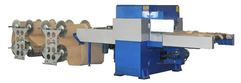 automatic feeding foam/leather/fabric roll die cutting machine