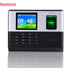 Recorder Fingerprint Recorder Realand A-L355 Fingerprint Time Recorder WIFI And Access Control Backup Battery