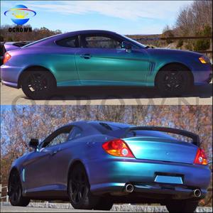 Cameleon pearl pigment car paint with color shift chroma for auto coating