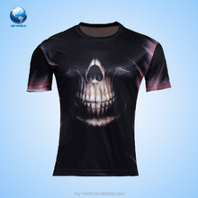 100% polyester t-shirt for custom design sublimation printing