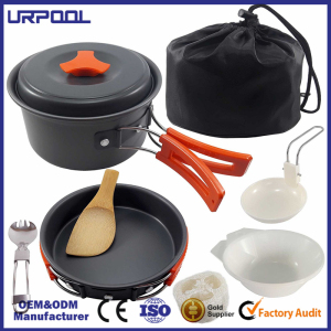 aluminum stock pot portable cookware kitchenware camping cookware