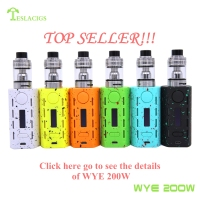 Teslacigs newest vape kit Tesla WYE 200W with steampunk cool style factory price Tesla Punk 220W