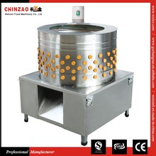 The Popular received CHINZAO Brand Electric chicken scalder & plucker machine for sale
