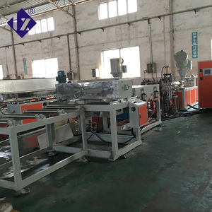 China hotsell pp pe abs sheet making machine plastic sheet pc abs pp luggage extruder machinery