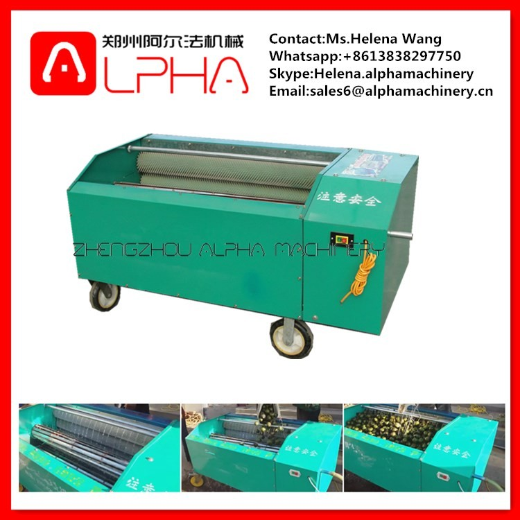 Hot Sale Automatic Pecan Sheller Machine Walnut Peeling