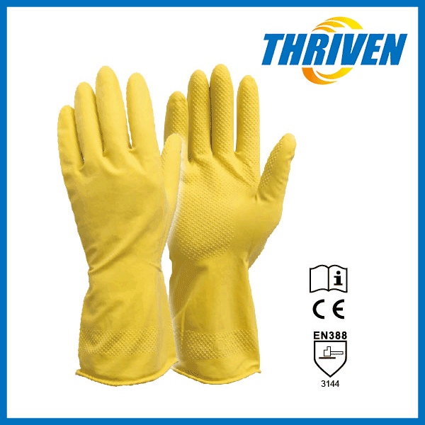 Washing Cleaning Gloves Long Gloves Waterproof In Alibaba
