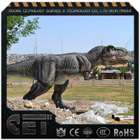 Outdoor exhibition real dinosaur animatronic dinosaur Allosaurus electronic amusement park equipment