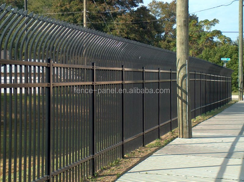 Spear top security steel gate fence for sale philippines