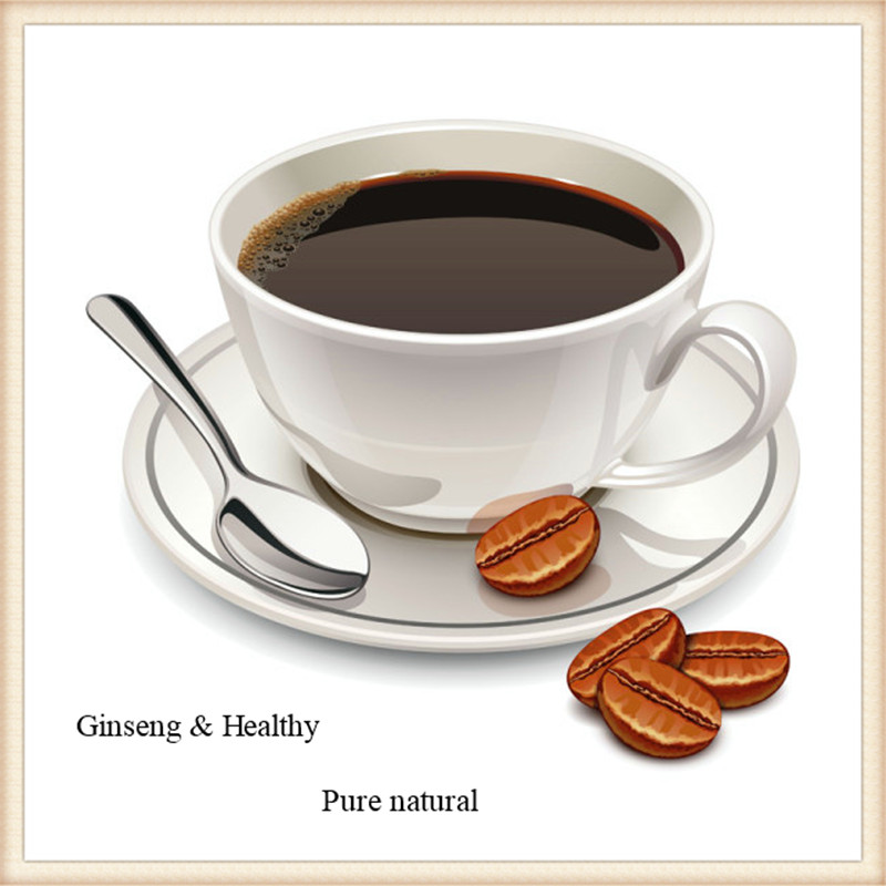 GMP standard natural health ginseng coffee for immune boost