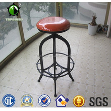 toledo industrial vintage metal bar stool bistro bar chair
