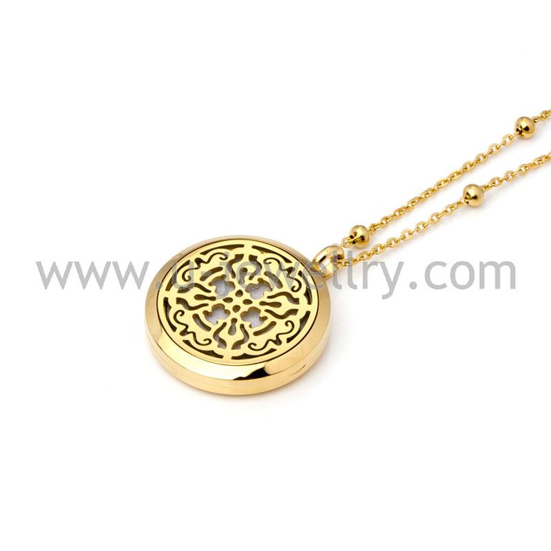 золотой медальон для фотографии